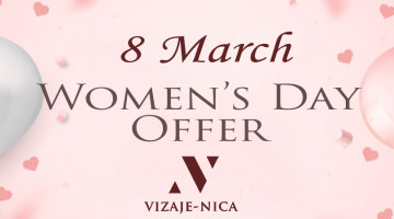 8 March Happy Women's Day Offer