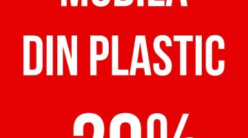 Reduceri -20% pentru mobila din plastic de la ALIR