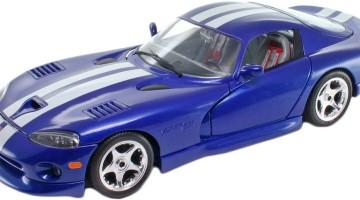 Авто-конструктор Dodge Viper GTS Coupe (1996) в сети магазинов LULU!