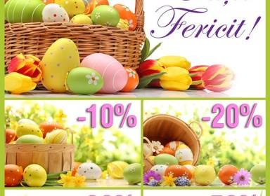 Interoptic ne aduce reducerele de Paște!