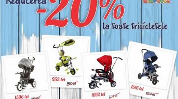 Baby Boom скидки -20% на трициклы!