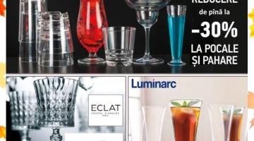 Libbey, Luminarc, Eclat reduceri pina la -30%