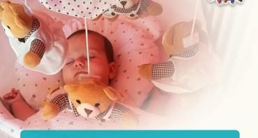 Caruselul muzical Canpol babies de la Baby boom