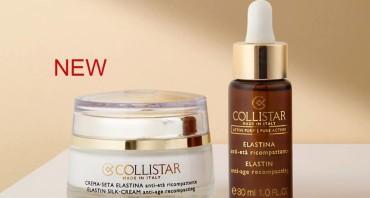 În curînd în vînzare! Collistar Puri® Elastin Drops și Cream-Silk Elastin Actives!