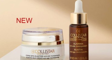 Скоро в продаже! Collistar Puri® Elastin Drops и Cream-Silk Elastin Actives!