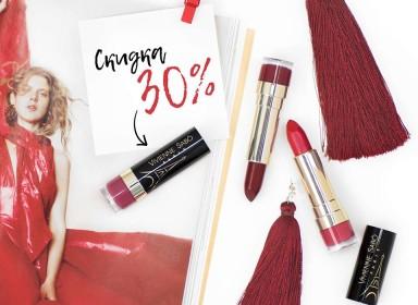 30% на помады Vivienne Sabo Rouge Charmant в Cosmetic Shop!