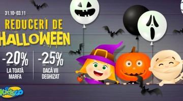 Reduceri la Kidsco de Halloween!