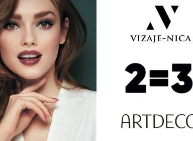 Акция Artdeco! 2=3