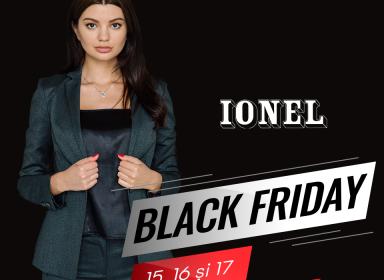 15, 16 и 17 ноября!  К Black Friday IONEL удивляет вас уникальными предложениями!