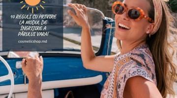 10 reguli cu privire la modul de îngrijire a părului vara!