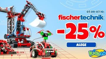 Kidsco – E luna dedicată FisherTechnik 😍