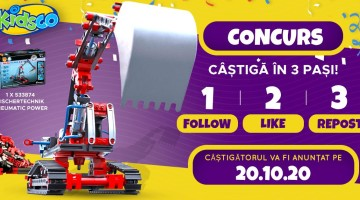 Concurs de la Kidsko în Facebook