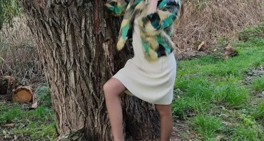 Кроп-шуба – модный тренд