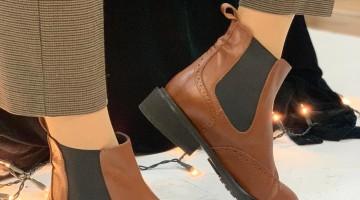 Oxvy Shoes – Botine din piele naturală