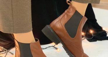 Oxvy Shoes — Botine din piele naturală