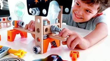 Descoperim talentele împreună cu noile seturi Inventor de la Hape