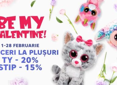 Dragostea se simte în aer toată luna Februarie!