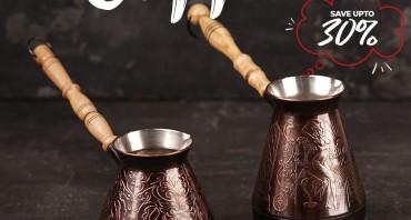 ля идеального кофе — медная турка ручной работы