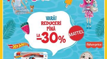 Reducere de până la 30% Barbie, Fisher Pice, Enchantimals, HotWeels