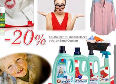Promoția în rețeaua magazinelor Sano !!!