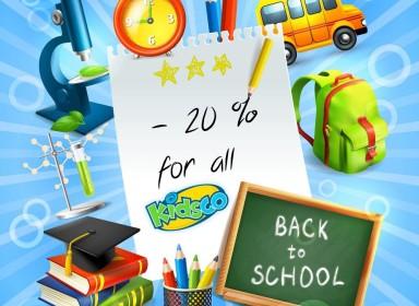 Back to School la Kidsco