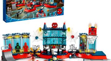 Lego Atac pe atelier al Spider-Man 76175