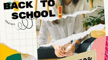 BACK TO SCHOOL #SALE -50%