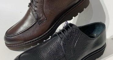 Pantofi din piele naturală din colecție nouă