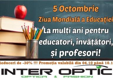 Reduceri -30% de ziua educatiei