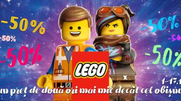 LEGO la un preț DE DOUĂ ORI MAI MIC